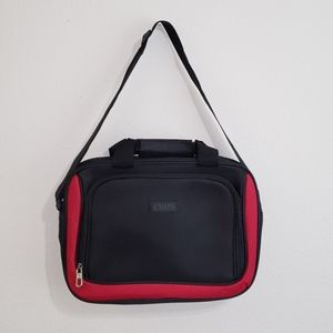 CHAPS | Travel Laptop Bag | Red/Black